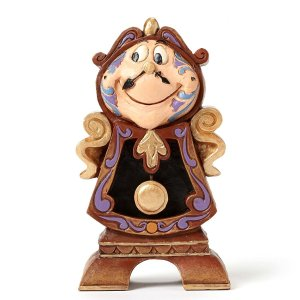 Disney Traditions Enesco エネスコ Cogsworth Figurine 4...