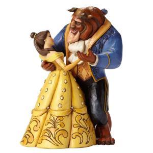 ディズニー Enesco エネスコ Disney Traditions トラディション 美女と野獣 Belle and Beast Dancing 4049619 完成品フィギュア 贈り物|oneofakind