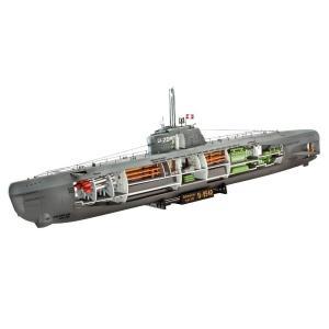 レベル Revell 05078 German Submarine ドイツ潜水艦 U-Boot XX...