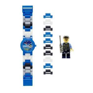 レゴ ウォッチ LEGO WATCH 腕時計 シティ スペシャルポリスマン 特別警察官 キッズ 8020028|oneofakind