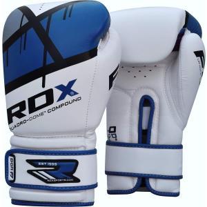 RDX Maya ハイド レザー ボクシング グローブ F7 ブルー 10oz パンチンググローブ スパーリング|oneofakind