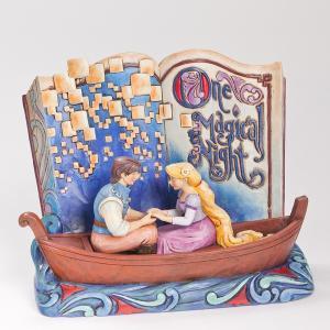 ディズニー Enesco エネスコラプンツェル Disney Traditions Rapunzel Story Book オブジェ フィギュア 置物|oneofakind