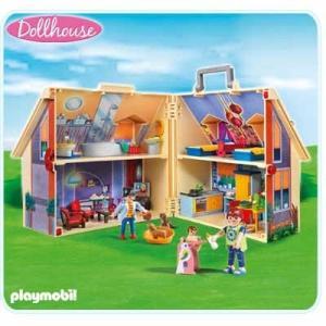 プレイモービル Playmobil Dollhouse ニュー ドールハウス キャリングセット 5167 ブロック 女の子 プレゼント 人気 おもちゃ|oneofakind