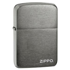 ZIPPO ジッポー ライター 1941 ブラックアイス 24485 クローム オイルライター|oneofakind