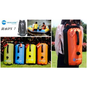 MARJAQE 防水リュック ドライバッグ ウォータープルーフ 30L ビーチバッグ 防水バッグ ドライ チューブ バッグ|oneplaceone