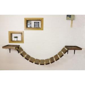 木製 ネコ用 吊り橋 キャットウォーク