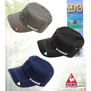 帽子 CAP ルコック  le coq メンズ13SS  ワークキャップ10034096-QG0456|onepoint