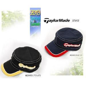 帽子 CAP  テーラーメイド TaylorMade  メンズ2013年春夏 USA ワークキャップ10038389-ST693|onepoint