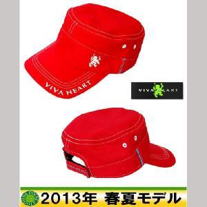 帽子 CAP ■ビバハート VIVA HEART メンズ13年春夏 ランパントワークキャップ10039947-013-56507|onepoint