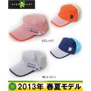 帽子 CAP ■ビバハート VIVA HEART メンズ13年春夏 2WAYワークキャップ10039971-013-56303|onepoint
