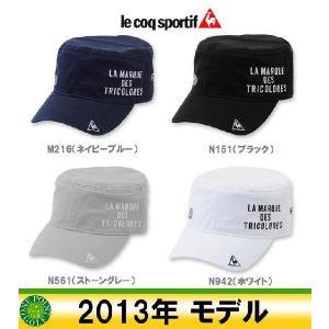帽子 CAP  ルコック le coq メンズ2013年 ドゴールキャップ10040141-QG0415|onepoint