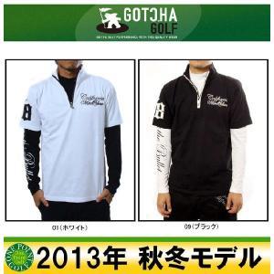 ガッチャゴルフ GOTCHA GOLF メンズ 2013年秋冬 モノトーンリアルレイヤード H/N 10040725-33GG1200|onepoint