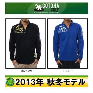 ガッチャゴルフ GOTCHA GOLF ユニセックス 2013年秋冬 ロングハーフZIP H/N 10040726-33GG1206|onepoint