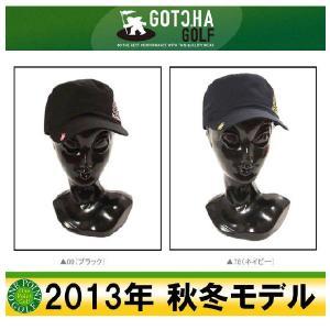 ガッチャゴルフ GOTCHA GOLF メンズ 2013年秋冬  チェーン刺繍ワークCAP 10040798-33GG8701|onepoint