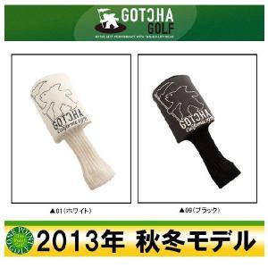 ゴルフ用品  ガッチャ ゴルフ GOTCHA GOLF 2013年秋冬 フィッシュマンドライバーヘッドカバー 10040805-99GG8830|onepoint