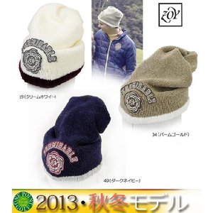 帽子 CAP  ゾーイ ZOY メンズ 2013年秋冬 2WAYニットキャップ 10040855-UCP32-515|onepoint