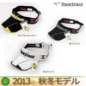 ツアーステージ TOUR STAGE メンズ 2013年 秋冬限定プロモデルサンバイザー オリジナルクリップマーカー付き サイズ:フリー(約56-59cm) 10045216-CPWT36|onepoint