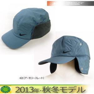 帽子 CAP ナイキ  NIKE  メンズ13FW  ウィンターバンカーキャップカラー:421(アーモリースレート)10048540-579369|onepoint
