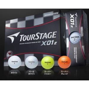 ブリヂストン ツアーステージ【TOURSTAGE】 X01z エックスゼロワンゼット 【1ダース12球】|onepoint