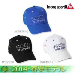 帽子 CAP ルコックゴルフ le coq メンズ2014年春夏 キャップ10048713-QG0512新作 ウエア 2014|onepoint