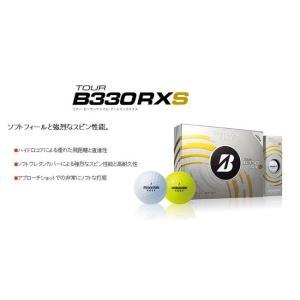 ゴルフボール ダース ブリヂストンBRIDGESTONE  2014 TOUR B330RXS ツアー・ビーサンサンマル・アールエックスエス 10059292-B330RXS1ダース12球 |onepoint