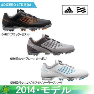 アディダス adidas メンズ 2014年モデル adizero ltd BOA アディゼロリミテッドボアゴルフ シューズ10059541|onepoint