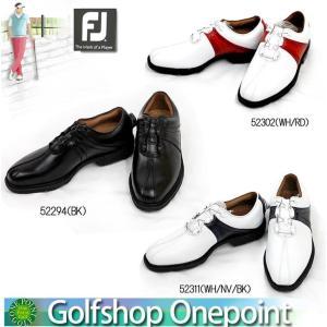 【訳あり=汚れあり】フットジョイ FootJoy メンズ  2012年モデル FJゴルフシューズ ICON Boa  アイコン ボア横幅(ウィズ)/W 10060670|onepoint