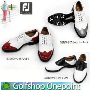 【訳あり=汚れあり】フットジョイ FootJoy メンズ  2013年モデル FJゴルフシューズ ICON   アイコン 横幅(ウィズ)/W 10060674|onepoint