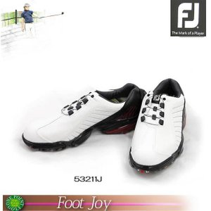 フットジョイ【FootJoy】 メンズFJ スポーツ ボア  カラー:ホワイト/ブラック/レッドサイズ:26.0cm10074782-53211J|onepoint