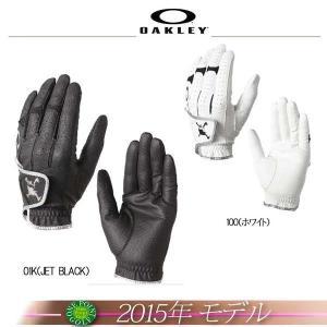 ゴルフウエア オークリー【OAKLEY】 2015年モデル SKULL GLOVE AW スカル ゴルフグローブ10075176-94245JP|onepoint