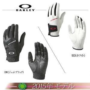 ゴルフウエア オークリー【OAKLEY】 2015年モデル BARK GOLF GLOVE バーク ゴルフグローブ10075179-94266JP|onepoint