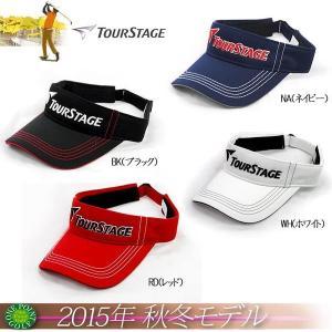 ゴルフウエアツアーステージ TOURSTAGE 2015年秋冬新作 バイザー 10075210-CPWT52|onepoint