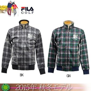 ゴルフウエアフィラ FILA メンズ2015年秋冬新作 ストレッチボンディングブルゾン 10075275-785221 onepoint