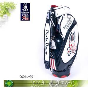 サイコバニー Psycho Bunny 2016年モデルゴルフ A/A FLAG CB キャディバッグ10075517-PBMG6SC1|onepoint