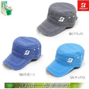 帽子 ブリヂストン BRIDGESTONE メンズ2016年春夏新作 ワークキャップ 10075781-CPSG67|onepoint