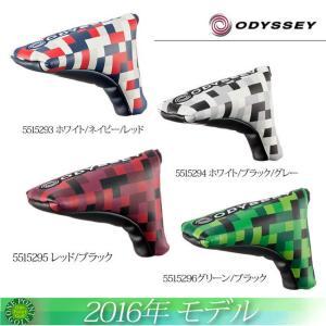 オデッセイ ODYSSEY 2016年 Odyssey Graphic Blade Putter Cover 16 JMパターカバー10075795|onepoint