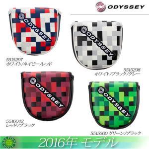 オデッセイ ODYSSEY 2016年 Odyssey Graphic Neo Mallet Putter Cover 16 JMマレット パターカバー10075796|onepoint