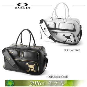 オークリー【OAKLEY】 メンズ2016年春夏モデル SKULL BOSTON BAG 10.0 スカル ボストンバッグ10075944-92922JP|onepoint
