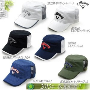帽子 キャロウェイ Callaway  2015年モデル Callaway American Mesh Work Cap 15 JMアメリカン メッシュ ワークキャップ10076029|onepoint