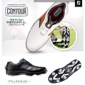 フットジョイ FootJoy メンズ 2016年モデルコンツアーボア ゴルフシューズContour Boa 54060・54061・54062・54059・5406410076321|onepoint
