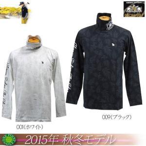 ガッチャゴルフ GOTCHA GOLF メンズ 2015年秋冬 ハーフジップロンT10076448-53GG1202|onepoint