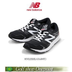 [ニューバランス] new balance RUNNING W590(B) レディス(Lady's)カラー:BLACK/WHITEW590LB5B10076528【メ7200(税抜)】|onepoint