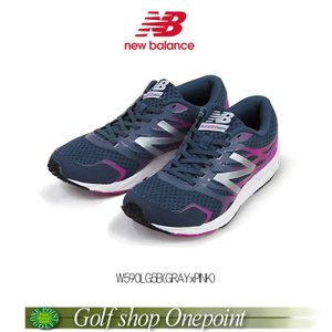 [ニューバランス] new balance RUNNING W590(B) レディス(Lady's)カラー:GRAY/PINKW590LG5B10076529【メ7200(税抜)】|onepoint
