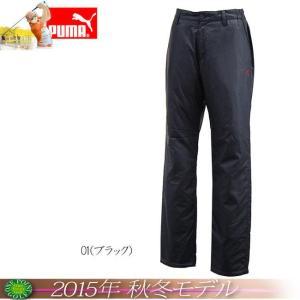 プーマ PUMA メンズ 2015年秋冬 ゴルフ パデットパンツカラー:ブラック10076559-923203|onepoint