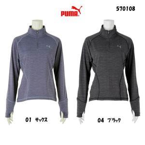 プーマゴルフ PUMAGOLF レディース2015年秋冬 ゴルフ Wヘザーポップオーバー10076940-570108|onepoint