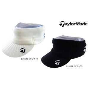 テーラーメイド TaylorMade メンズ 2015年秋冬 ニットバイザー フリー(57cm〜59cm) 10077022-CBZ64|onepoint