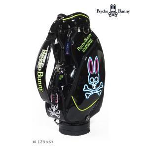 サイコバニー Psycho Bunny2017年秋冬 A/A FLAGゴルフ キャディバッグ NEON PBMG7FC1 10078036|onepoint