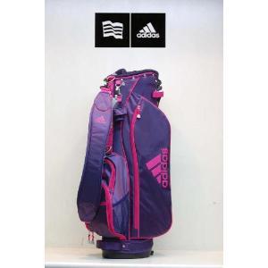 【アウトレット】アディダス【adidas】ウィメンズ カジュアルスタンドキャディバッグ JM026 カラー:ネイビー(NV N50785 )|onepoint