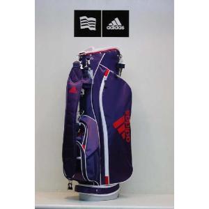 【アウトレット】アディダス【adidas】ウィメンズ カジュアルスタンドキャディバッグ JM026 カラー:ネイビー/ホワイト(NV/WH N50839 )|onepoint