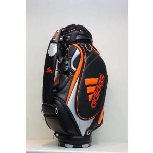 【アウトレット】アディダス【adidas】メンズJM122 SPパフォーマンスキャディバッグ [ブラック/オレンジ]N50845|onepoint